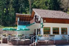 Camping Alpirsbach Rezeption und Restaurant