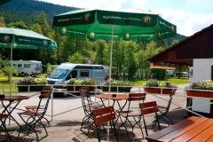 Camping Alpirsbach Terrasse