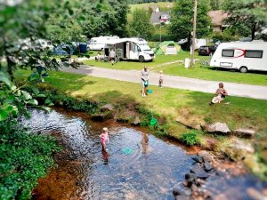 Idylle Campingplatz Alpirsbach